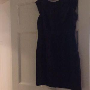 Black Valentino Jacquard Dress